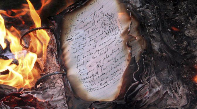 Centenario de la quema de libros en Santiago
