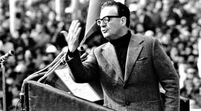 ¿Por qué Ena Von Baer citó a Salvador Allende?