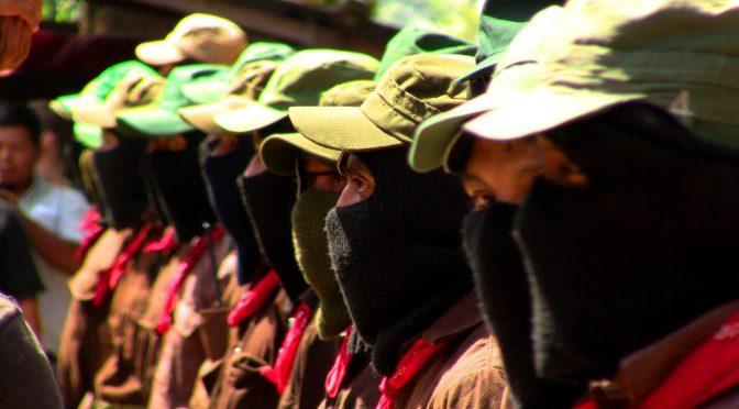 Desde la selva Lacandona solidarizan con los presos políticos mapuche y el machi Celestino Córdova