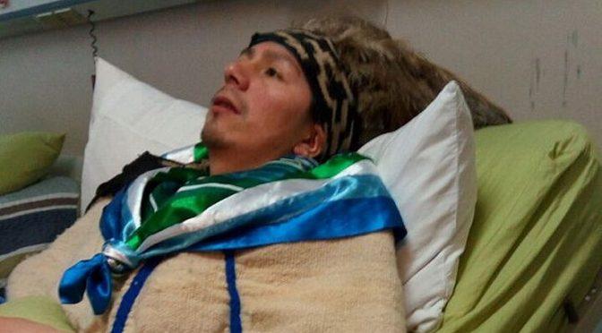 Machi Celestino Córdova depone huelga de hambre