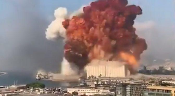 Líbano: la explosión de Beirut sacude al régimen corrupto