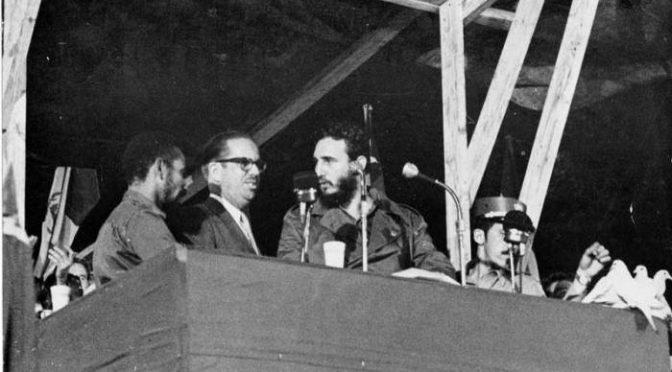 6 de agosto 1960: Fidel anuncia la nacionalización de las empresas imperialistas