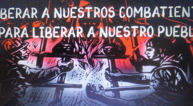 Solidaridad con los presos políticos: lanzamiento del libro del comandante Alcides Oviedo