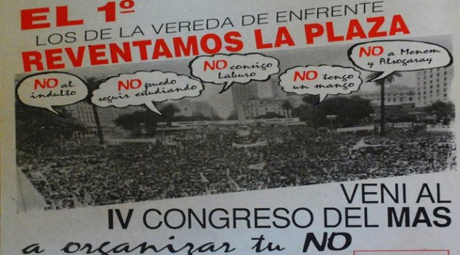 Izquierda argentina: la crisis del Movimiento al Socialismo, lecciones para el presente
