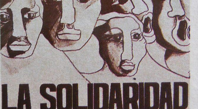 Solidaridad ayer, hoy y siempre