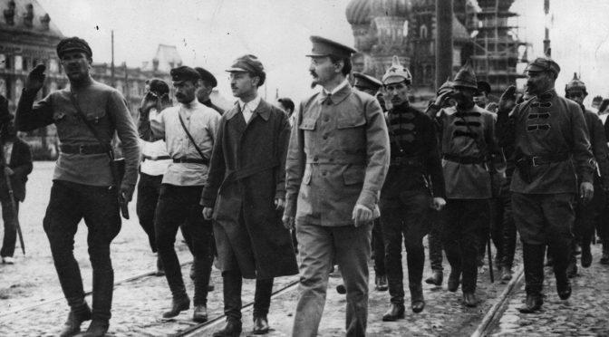 Karl Radek: León Trotsky, el organizador de la victoria