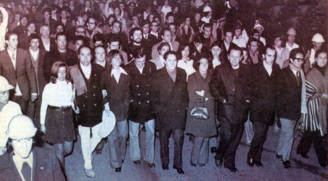 Mario Amorós publica «Entre la araña y la flecha», la trama civil contra el gobierno de Allende