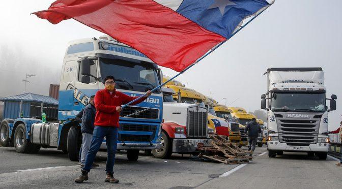 Repudiemos el chantaje de la patronal camionera, enfrentemos al Estado capitalista