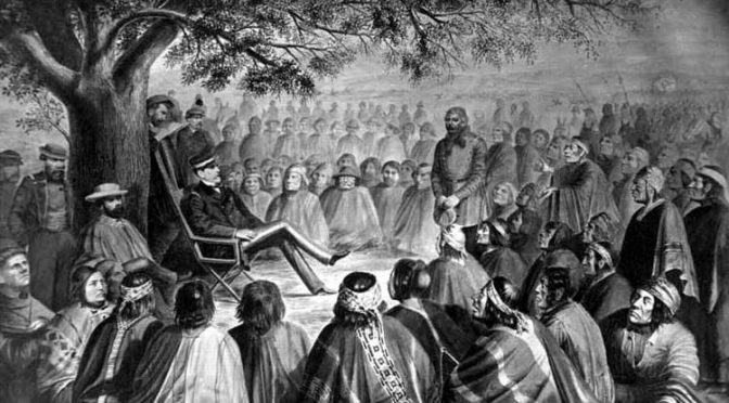 El Tratado de Tapihue 1825, reconocimiento por el Estado chileno a la nación mapuche