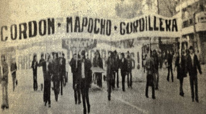 Chile 1970-1973: la revolución desarmada