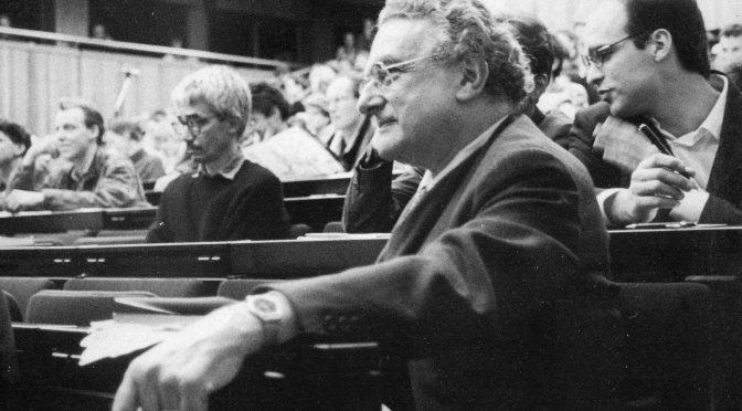 Ernest Mandel: Hay que soñar, la anticipación y la esperanza como categorías del materialismo histórico