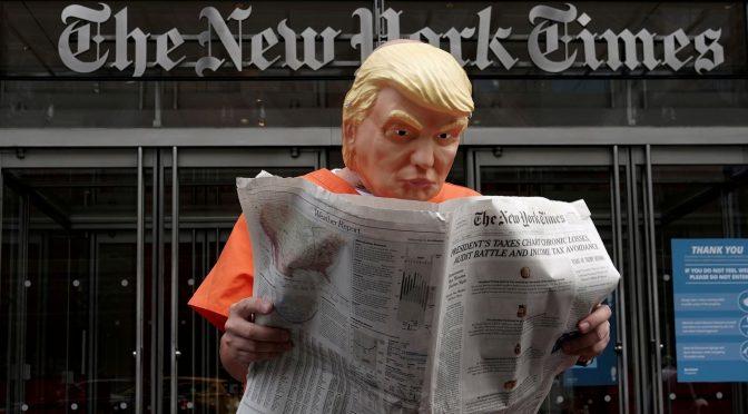 Las declaraciones de impuestos de Trump y el parasitismo de la oligarquía financiera