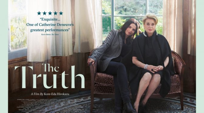 'The Truth': Catherine Deneuve como una actriz con los pies en la tierra