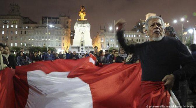 Cordón 7 Cerros en solidaridad con los hermanos peruanos