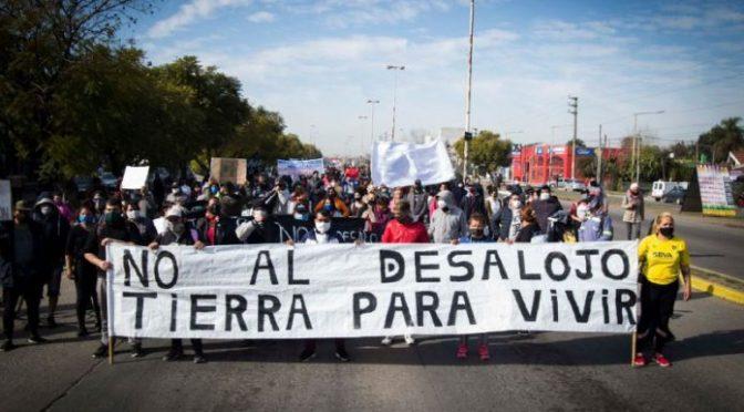 La crisis habitacional argentina y el desalojo en Guernica