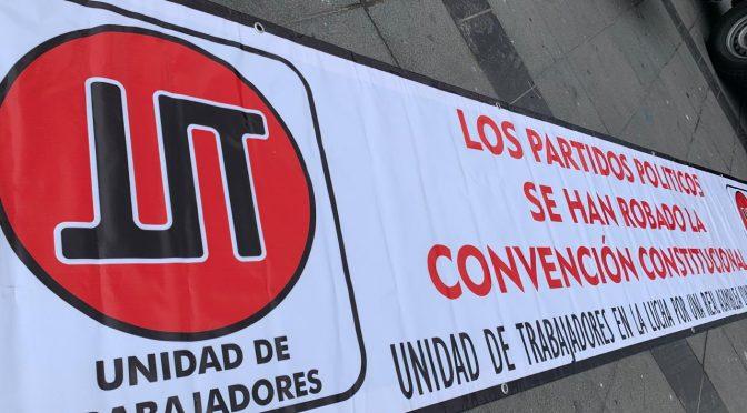 Unidad de los trabajadores por una Asamblea Constituyente desde las bases