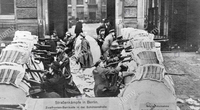Marx en la barricada