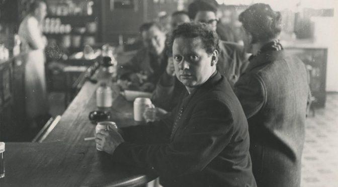 Dylan Thomas: «Manifiesto poético»