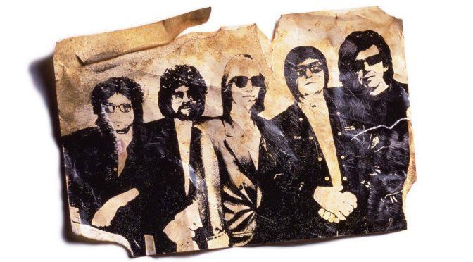 Traveling Wilburys: guitarras en la mecedora