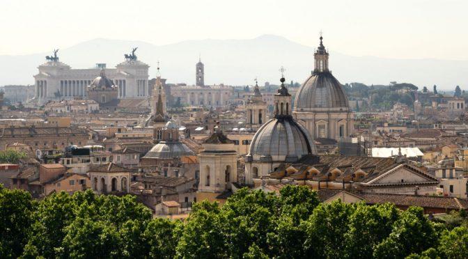 La Roma especular y reciclada, una ciudad que se repite