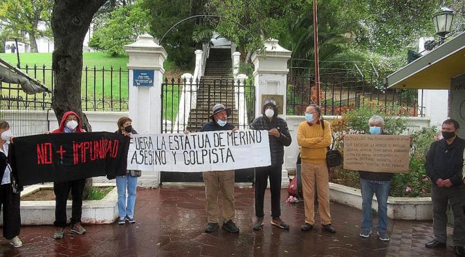 La porfiada lucha de resistencia por la memoria y por terminar con los símbolos de la Dictadura