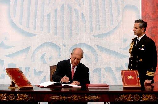 Documentos ocultos de la Historia de Chile: entusiasta discurso de Ricardo Lagos al suscribir la actual constitución en 2005