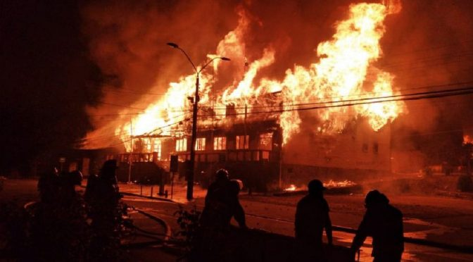 Cronología de un asesinato explosivo: Panguipulli en llamas