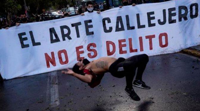 Francisco y el arte callejero