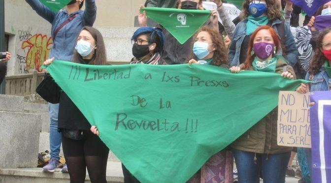 ¡Llegó marzo y la Huelga Feminista! Pañuelazo en Valparaíso