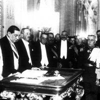 ¡El ejército impuso la constitución de 1925!