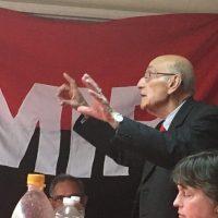 Falleció el primer secretario regional de MIR en Concepción: Pedro Enríquez Barra