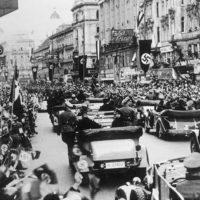 10 de abril 1938: anexión de Austria a la Alemania nazi