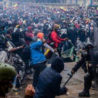 Solidaridad internacional con el levantamiento social en Colombia