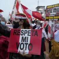 Perú termina segunda semana desde la elección presidencial sin ningún ganador declarado