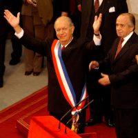 Discurso (desaparecido de internet) de Ricardo Lagos, el «Rey Sol», al suscribir la actual Constitución