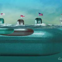 Submarinos nucleares en el Pacífico